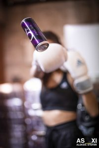 can, canette, boxe, girl